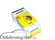 Glühbirne 12V 5Watt für Rücklicht 3-Kammerleuchte HP 500 Trabant Kübel