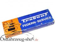29 teiliges Federnsortiment / Feder Service  für Trabant 500,600,601