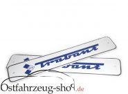 Set original - Kennzeichen /Nummernschild mit Trabant Logo