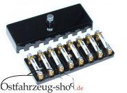 Sicherungsdose / Sicherungsverteiler m. Sicherungen für Trabant 601 NEU