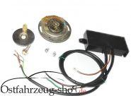 12V Elektronik Zündung komplett EBZA ESE-2H regeneriertes Ausbauteil f. Trabant 601