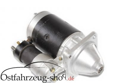 12V Anlasser regeneriert für Trabant 1.1, Wartburg 1.3, Barkas mit 4-Takt Motor