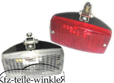 Set Rückfahrscheinwerfer / Nebelschlussleuchte für Trabant 601 Ausbauteil