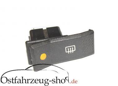 Schalter für Heckscheibenheizung Wartburg 1.3 Ausbauteil
