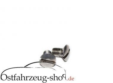 Befestigungsschrauben für Außenspiegel - Set 2- teilig für Trabant 601