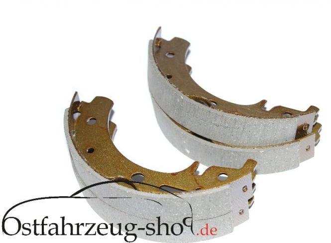 Bremsbacken-Satz vorne recht + links für Trabant 601, 1.1