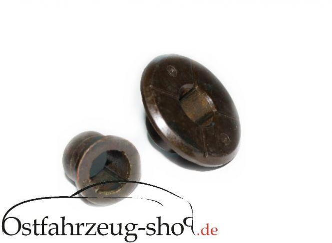 Paar - Federgabel-Buchsen original Teil für Trabant 601