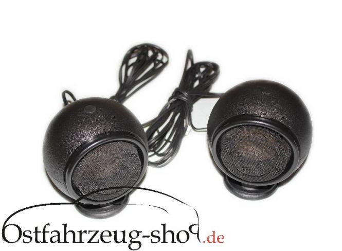 Regenerierter Satz original RFT Kugelboxen B7164 für Trabant