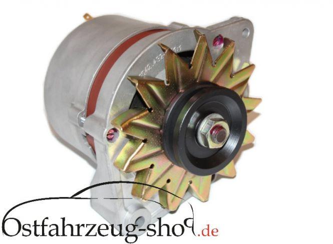 14 V / 57A Lichtmaschine Drehstrom regeneriert für Barkas Barkas B1000-1