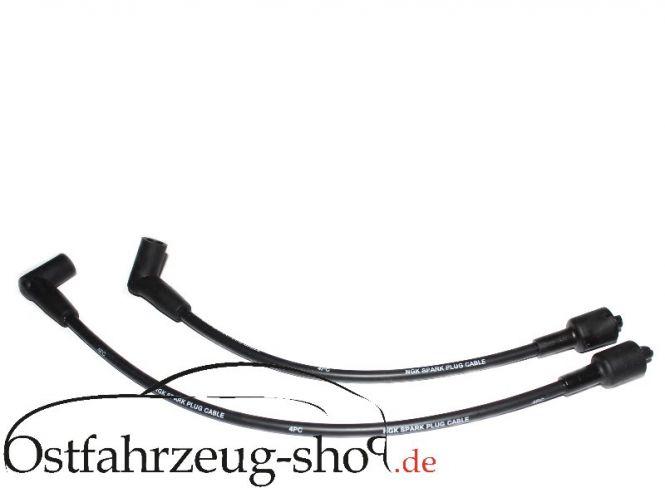 Hochwertige Silikon-Zündleitungen NGK  für  Trabant 601
