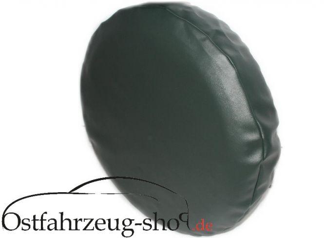 Reifenschoner Reifenhülle grün f. Reserverad Trabant Kübel