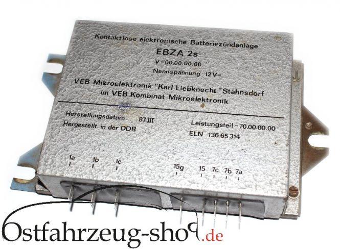 Steuerteil elektronische Batterie Zündanlage EBZA2S für Wartburg 353 und Barkas B1000