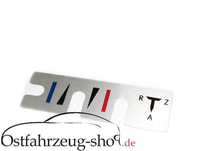 Symbol  für Heizungs- und Benzinhahnregler Trabant 601