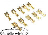 10er pack Kabelschuhe/ Crimpverbinder für Trabant 601