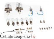 24-teilig Glühlampen-Satz 6 Volt, Bilux für Trabant 601