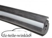Dichtprofil für Front und  Heckscheibe schwarz mit Keder Trabant 601