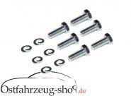 Set 12-teilig Montageschrauben für Kupplungsautomat Trabant 500,600,601