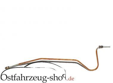 Bremsleitung hinten links für Trabant 601 Blattfeder- Ausführung