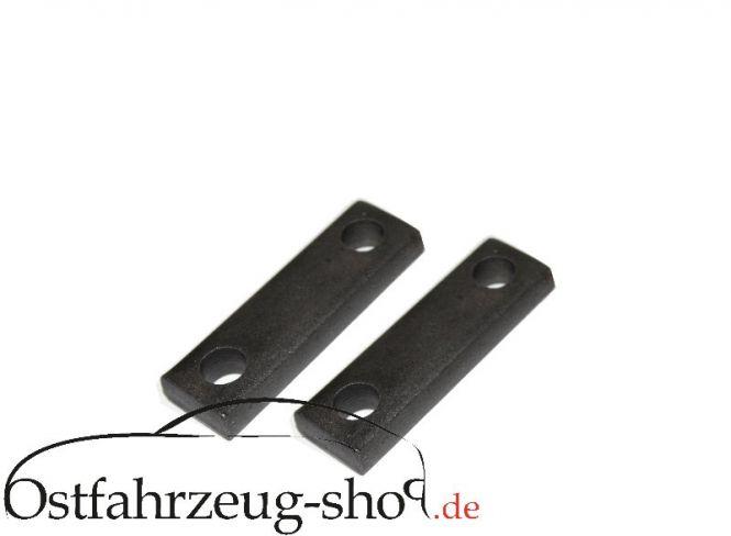 Satz Befestigungsschiene Drucksteck für Blattfeder Trabant 601